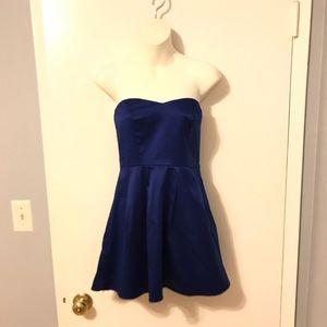 Dark navy mini dress
